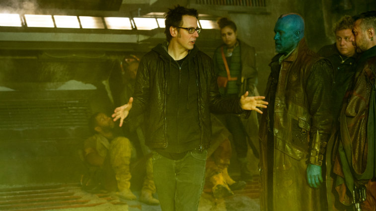 James Gunn on the Guardians of the Galaxy set