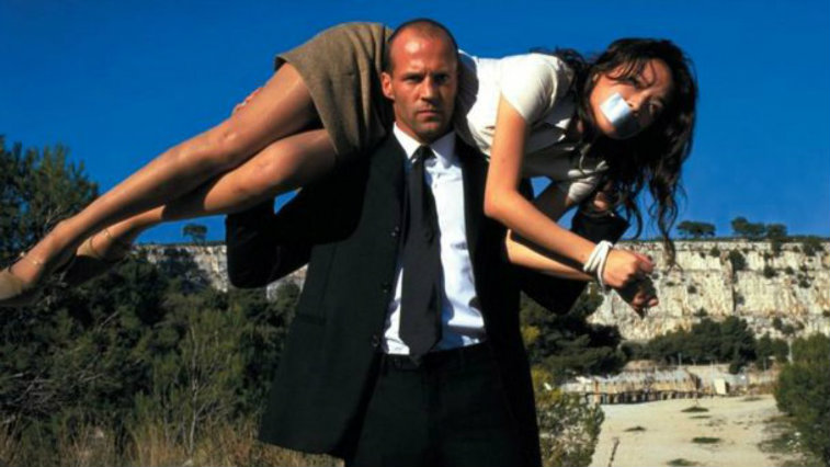 Jason Statham in The Transporter