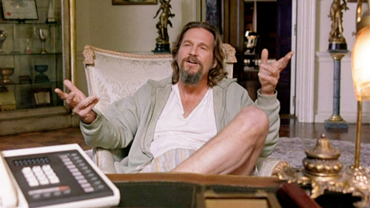 Jeff Bridges in The Big Lebowski