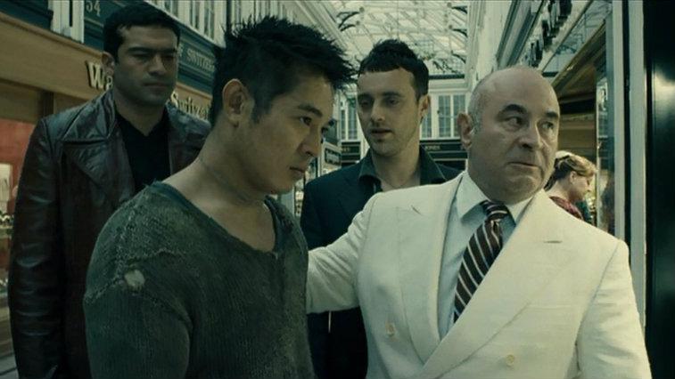 Jet Li and Bob Hoskins in Unleashed
