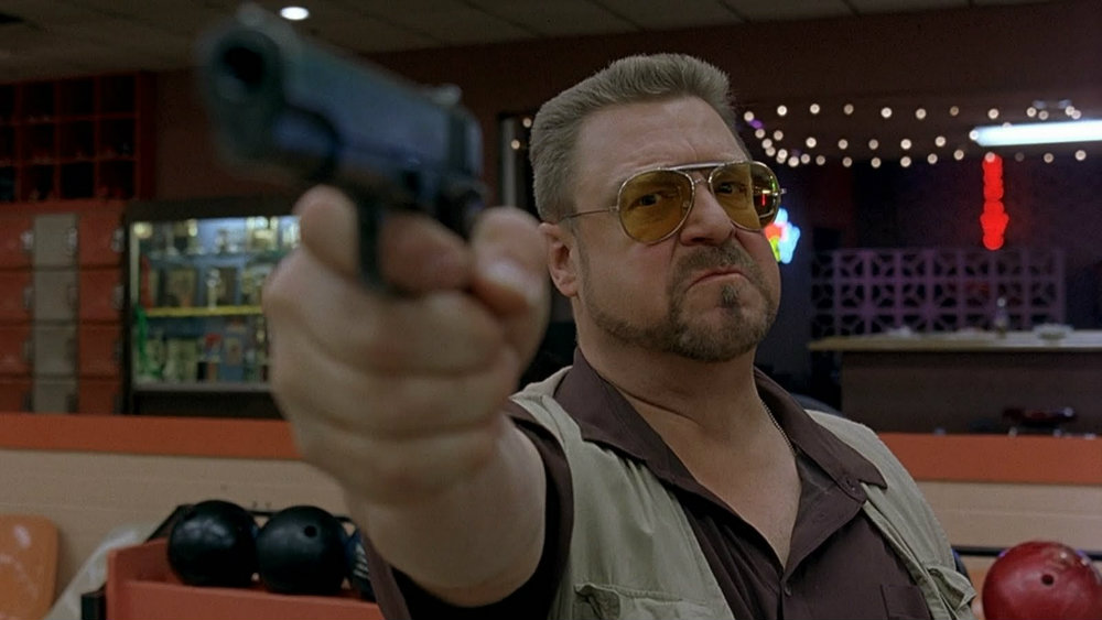 John Goodman in The Big Lebowski