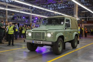 After 68 Years, It's the End of the Road for the Land Rover Defender