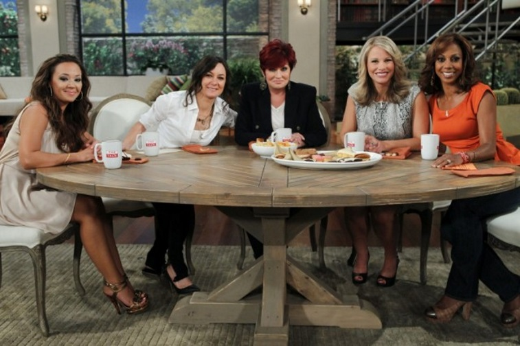 Leah Remini, Sharon Osbourne, and other hosts of The Talk