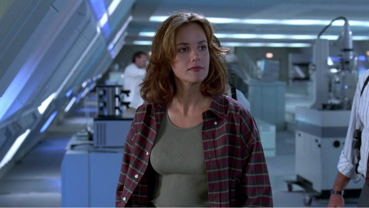 Margaret Colin in Independence Day