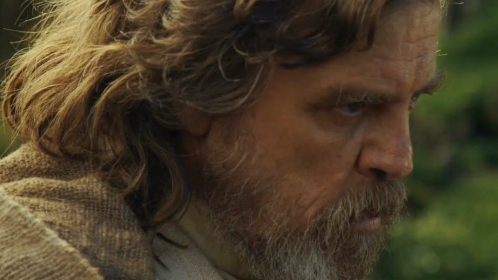 Mark Hamill in Star Wars Episode VIII