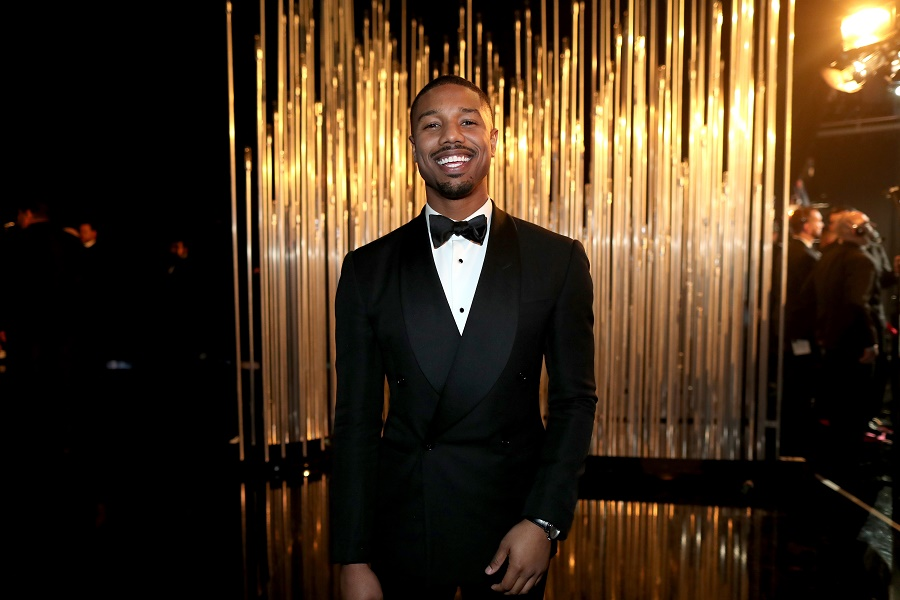 Michael B. Jordan at Academy Awards