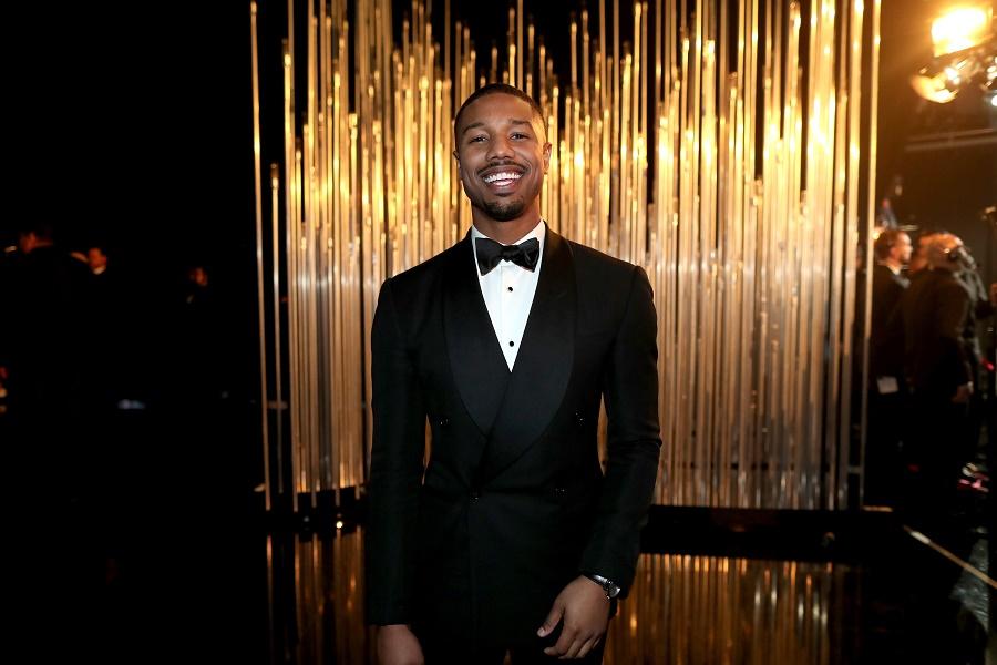 Michael B. Jordan at Academy Awards