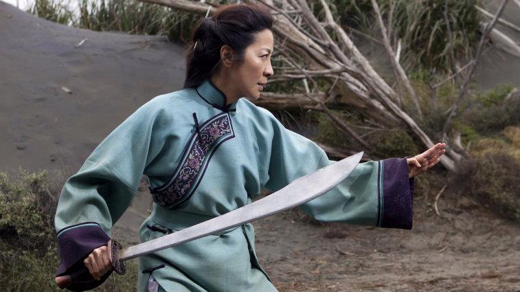 Michelle Yeoh in Crouching Tiger, Hidden Dragon: Sword of Destiny