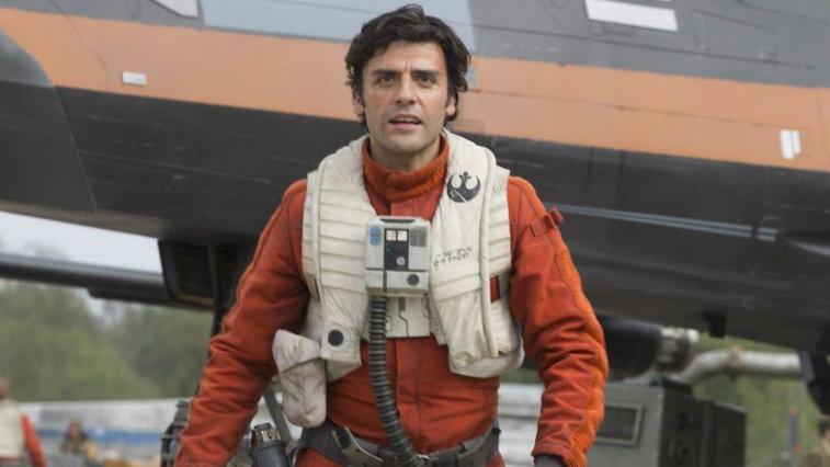 Oscar Isaac in Star Wars: The Force Awakens