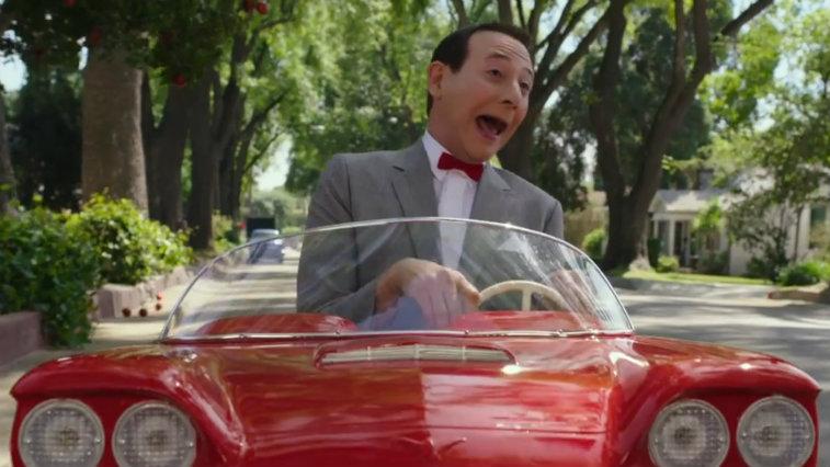 Paul Reubens in Pee-wee's Big Holiday