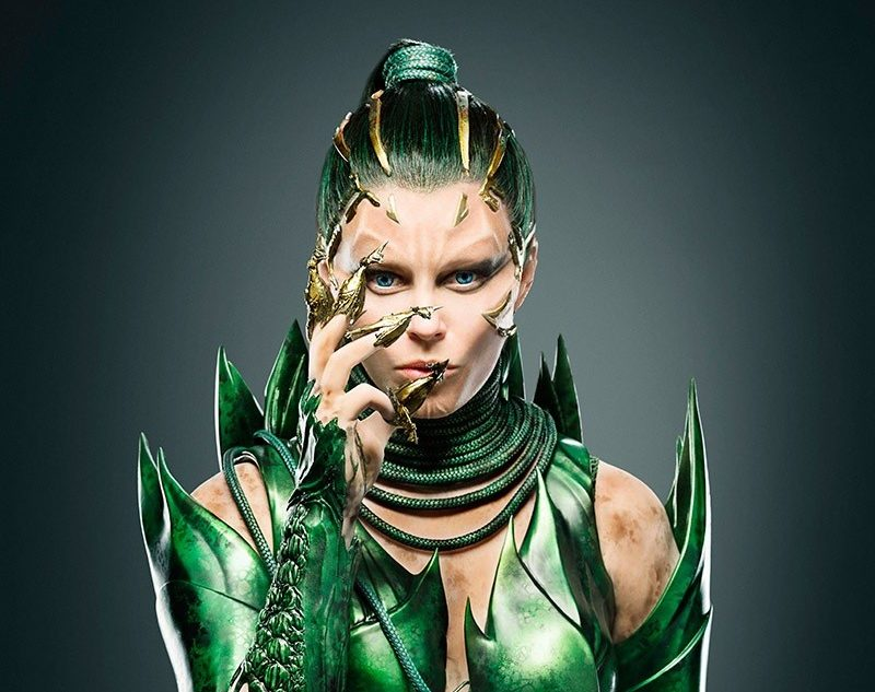 Elizabeth Banks as Rita Repulsa in Power Rangers movie.