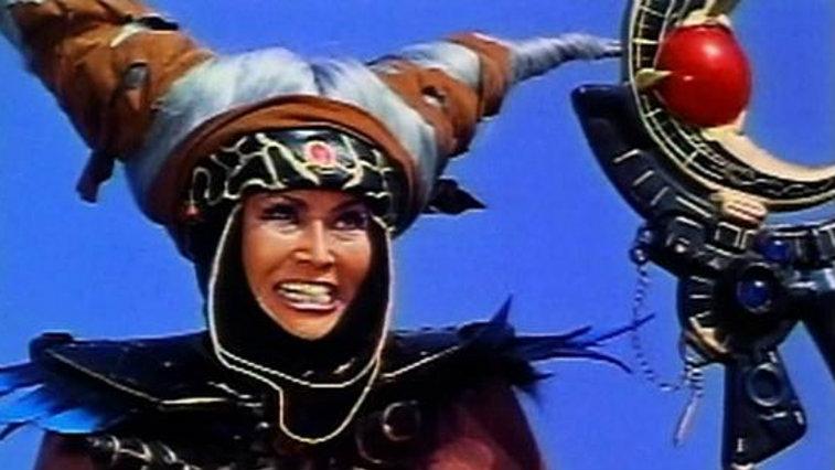 Rita Repulsa in <em>Power Rangers</em> TV show