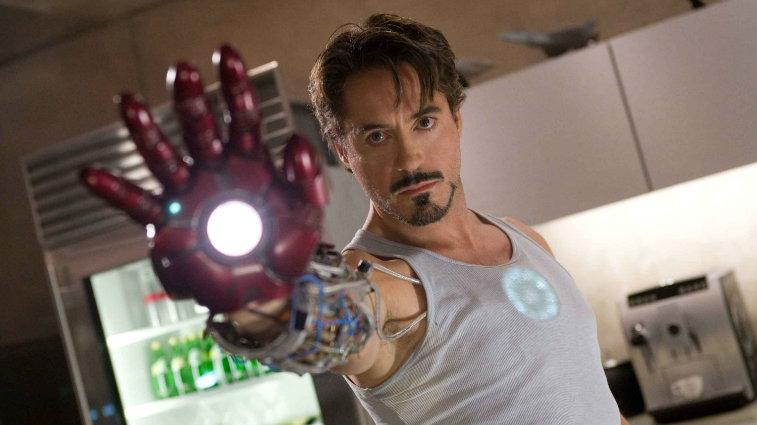 Robert Downey Jr. in Iron Man