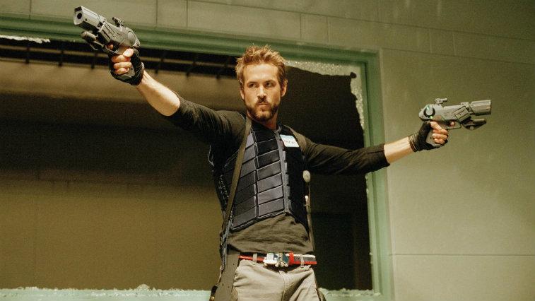 Ryan Reynolds in Blade: Trinity