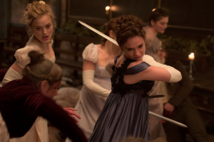 'Pride and Prejudice and Zombies': Delivers All 3 (and More)