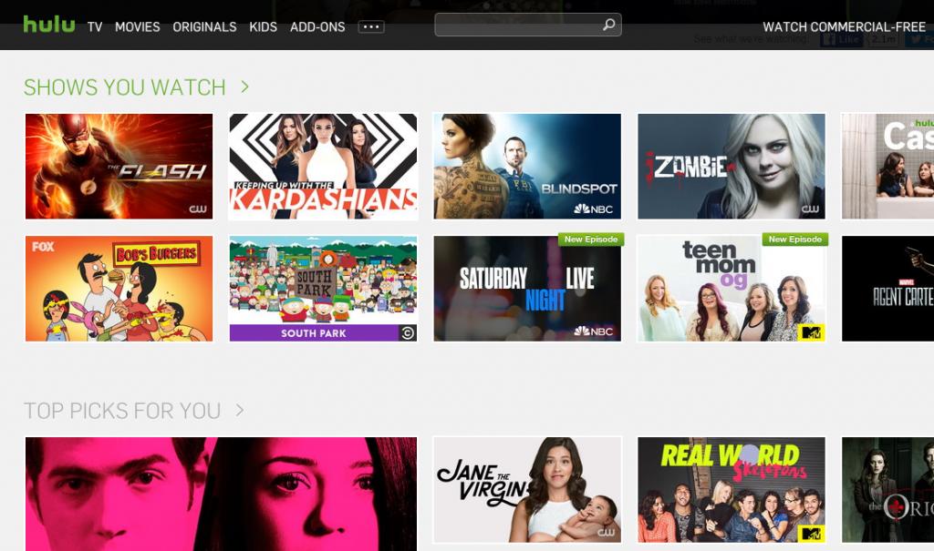 Hulu - Next-Day Streaming