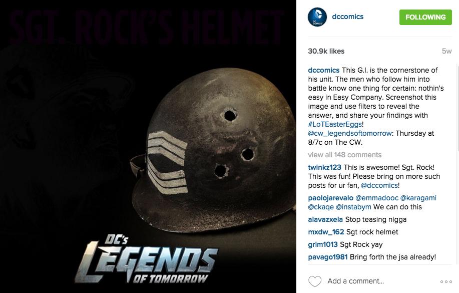 Sgt. Rock - DC Comics, Legends of Tomorrow