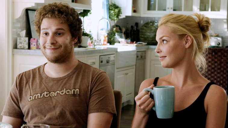 Seth Rogen and Katherine Heigl in Knocked Up