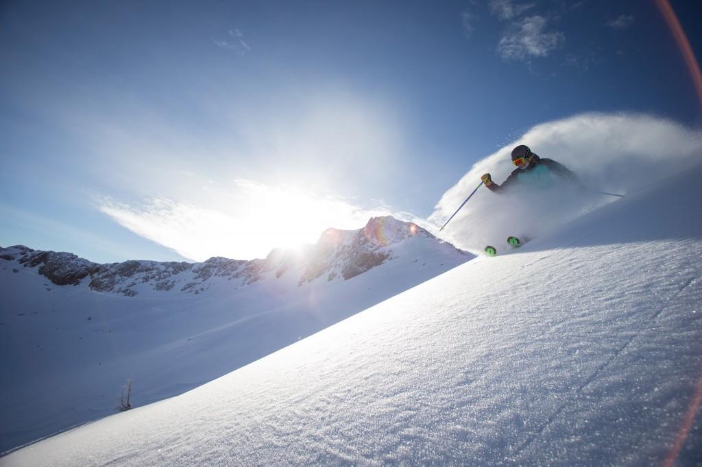 Squaw skier