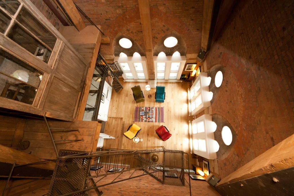 st. pancras clock tower guest suite