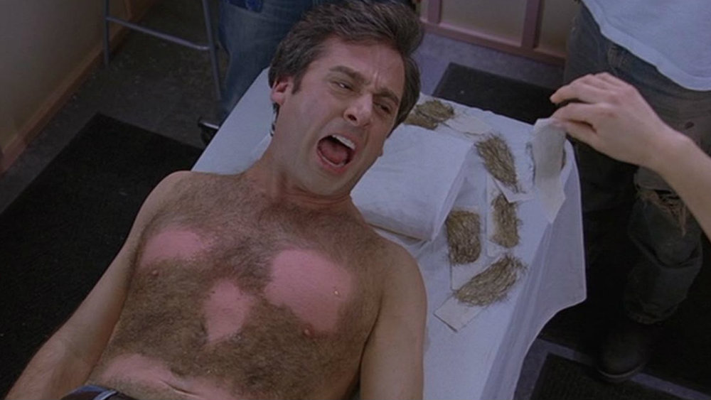 Steve Carell in The 40-Year Old Virgin