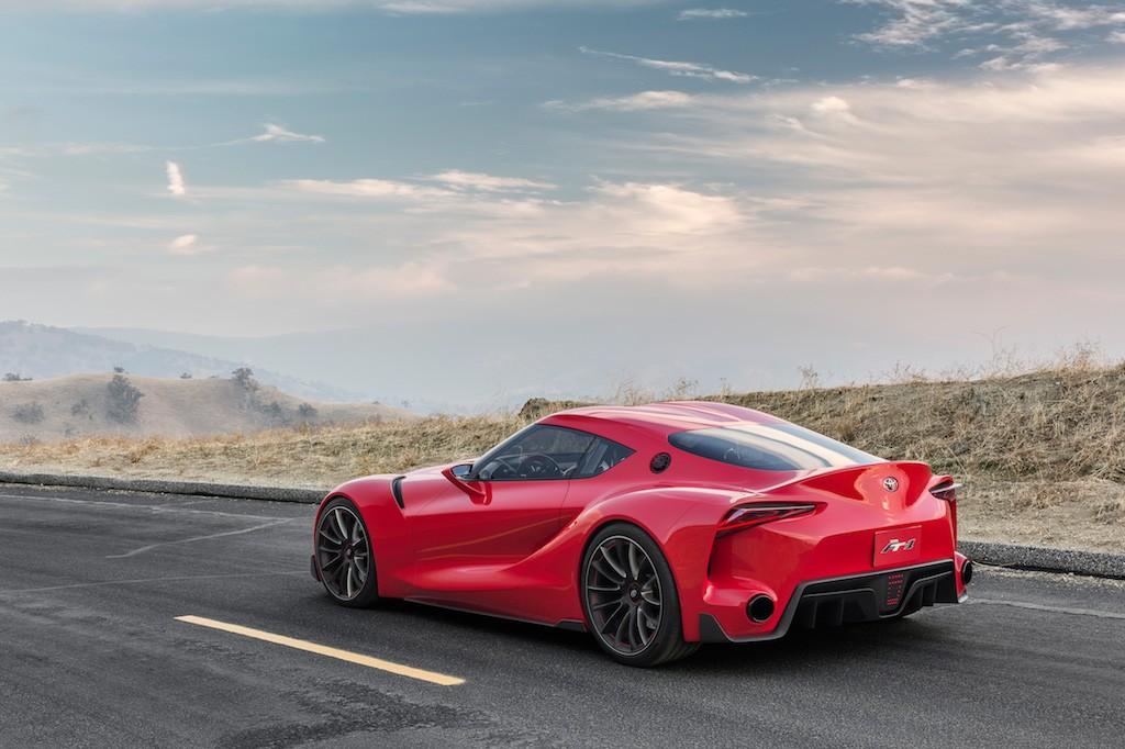 Toyota FT-1 Concept|Toyota