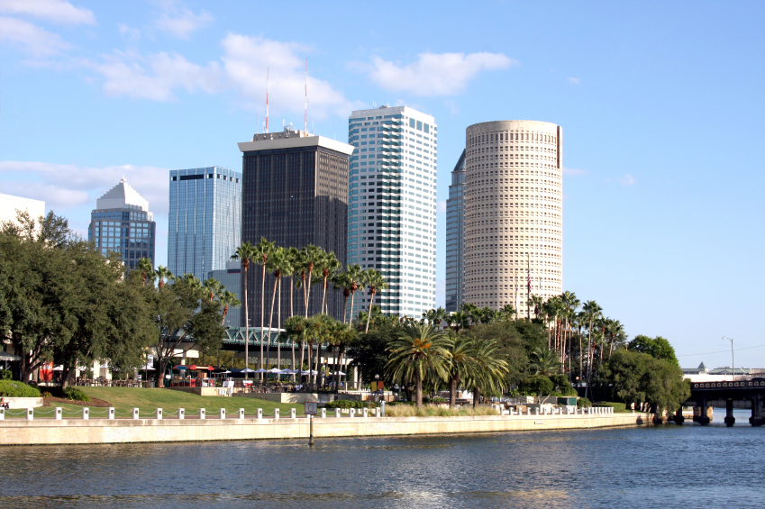 buildings in Tampa Downtown