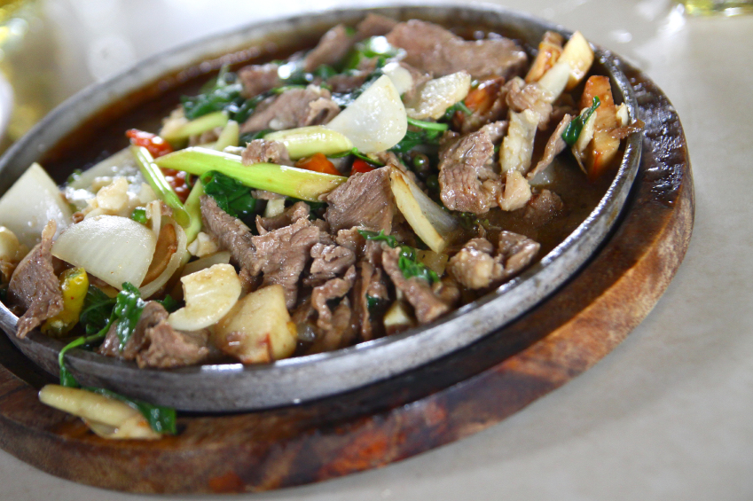 Thai beef and vegetable stew