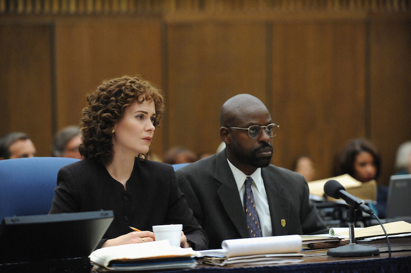 Sarah Paulson and Courtney B. Vance in The People v. O.J. Simpson
