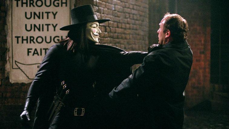 Hugo Weaving in V for Vendetta