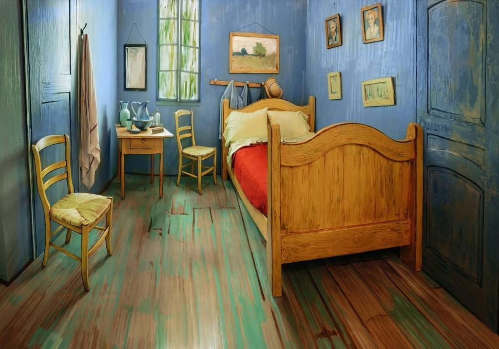van gogh's bedroom