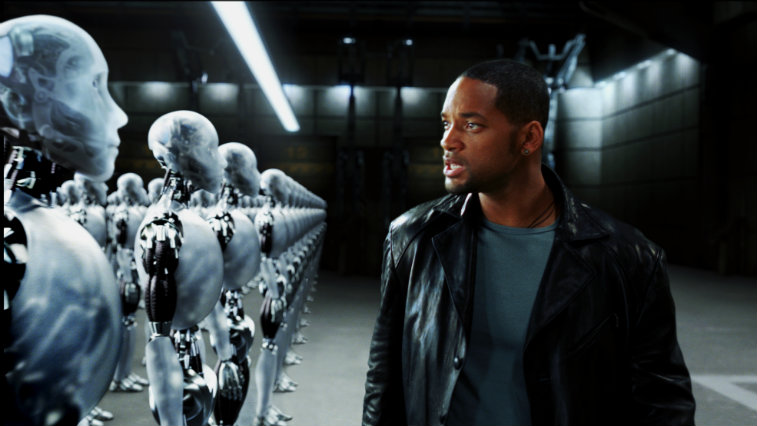 Will Smith in I, Robot