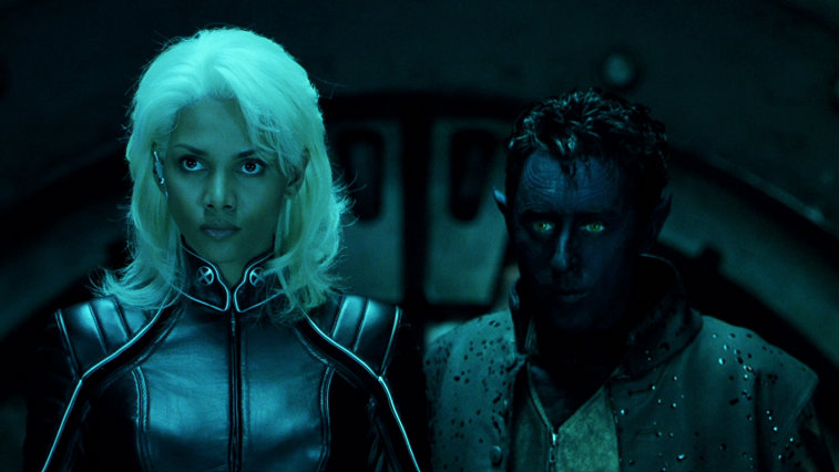 Halle Berry and Alan Cumming in X2: X-Men United