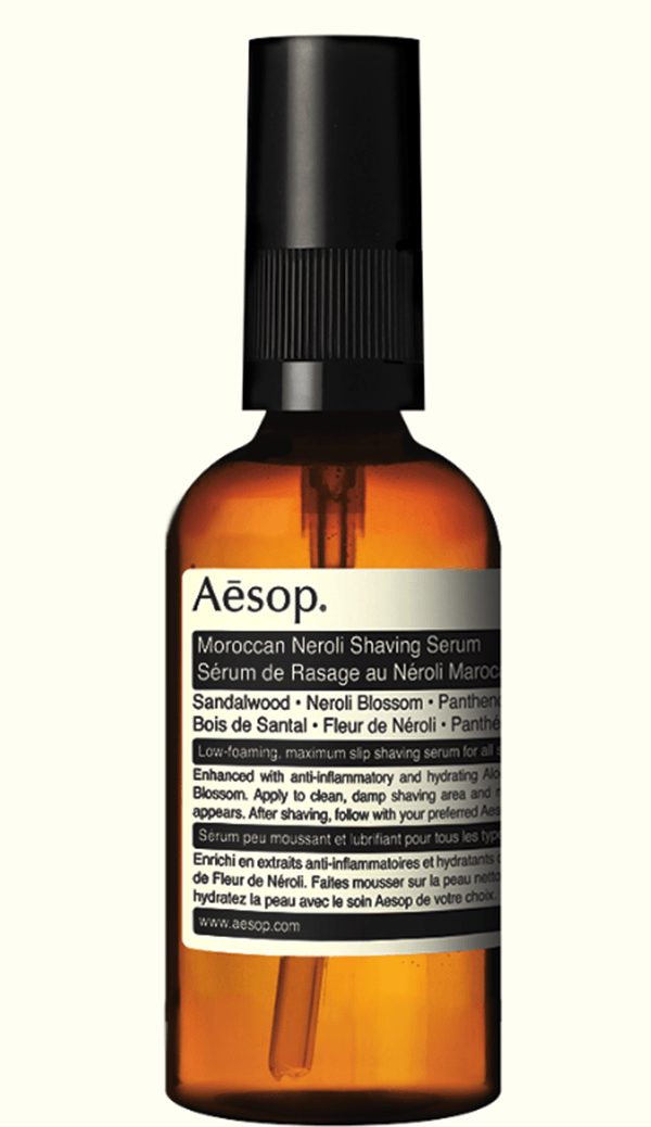 shaving serum from Aēsop