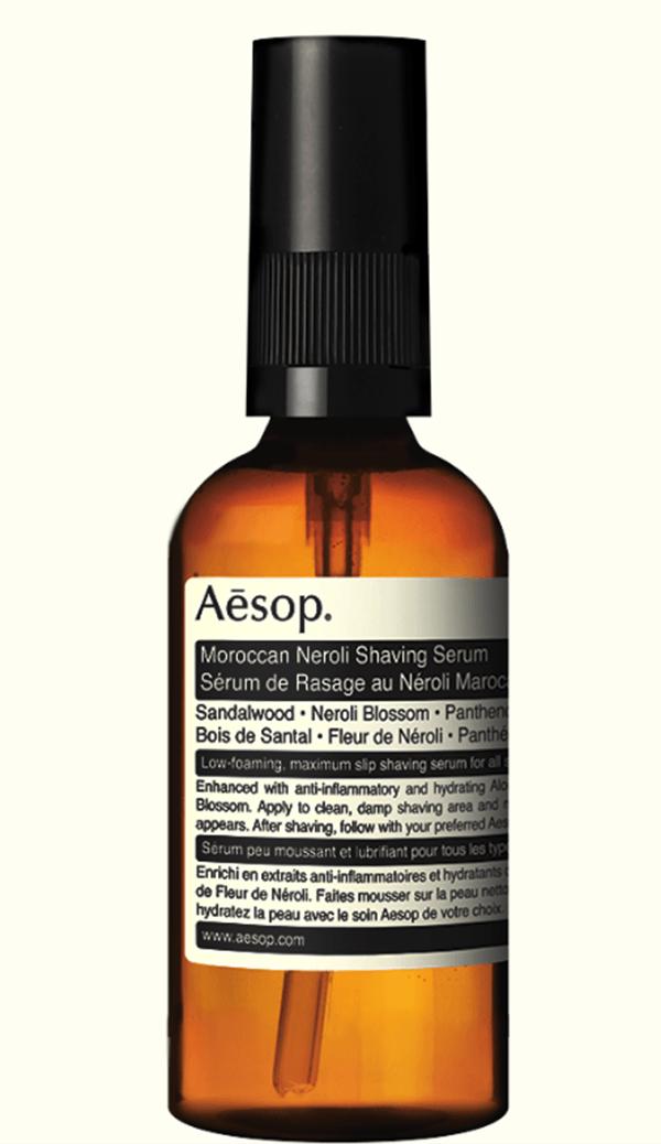 shaving serum from Aēsop