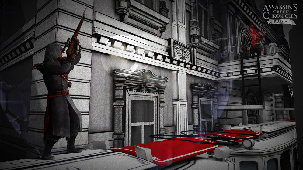 Assassin's Creed Chronicles: Russia a stealthy killer snipes an enemy