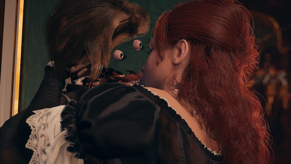 Assassin's Creed Unity horrifying glitch