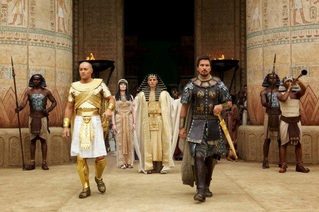 Joel Edgerton, Ben Kingsley and Christian Bale star in 'Exodus: Gods and Kings'