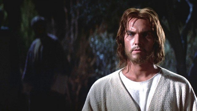 Jeffrey Hunter stars as Jesus in 'King of Kings'