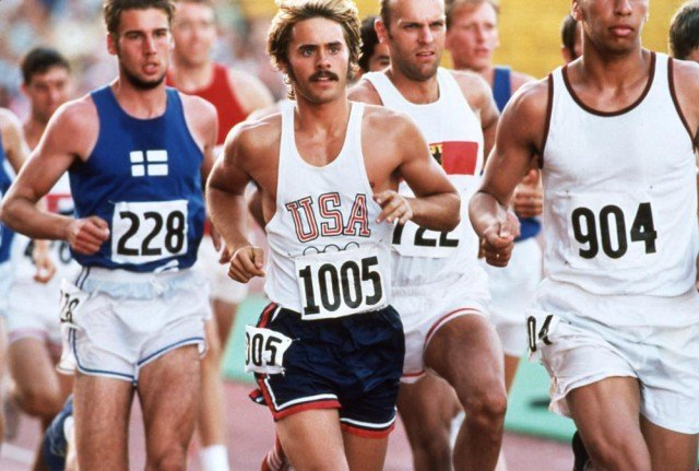 Jared Leto stars as the famous runner in 'Prefontaine'