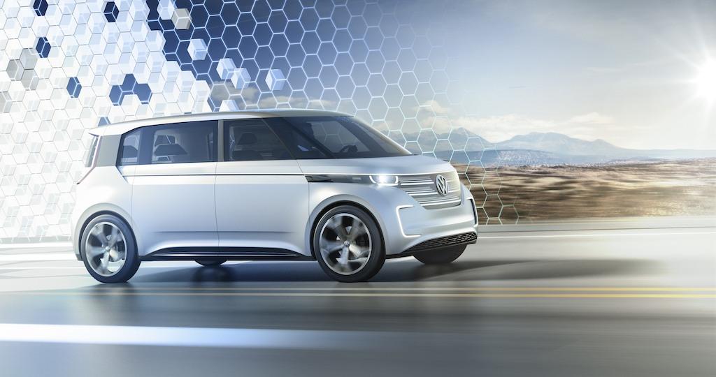 2016 Volkswagen BUDD-e concept Volkswagen