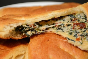 Try This 6-Ingredient Snack: Cheesy Spinach Pockets