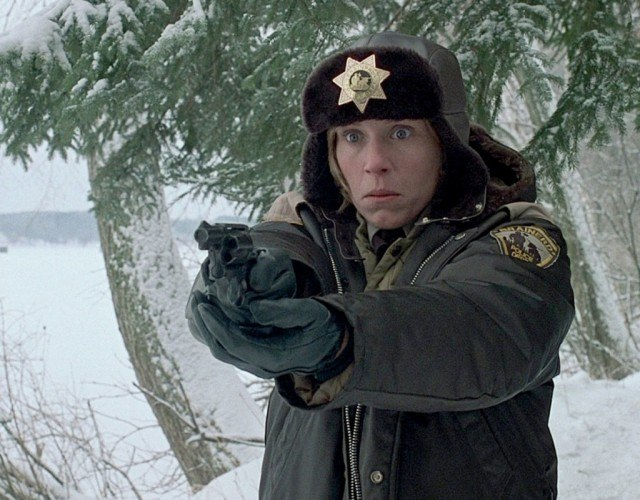 Frances McDormand as Marge Gunderson