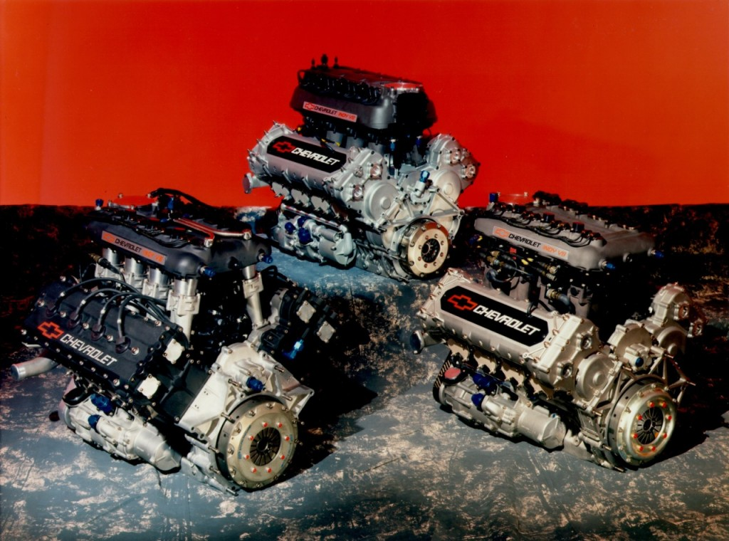 Chevy engines from history