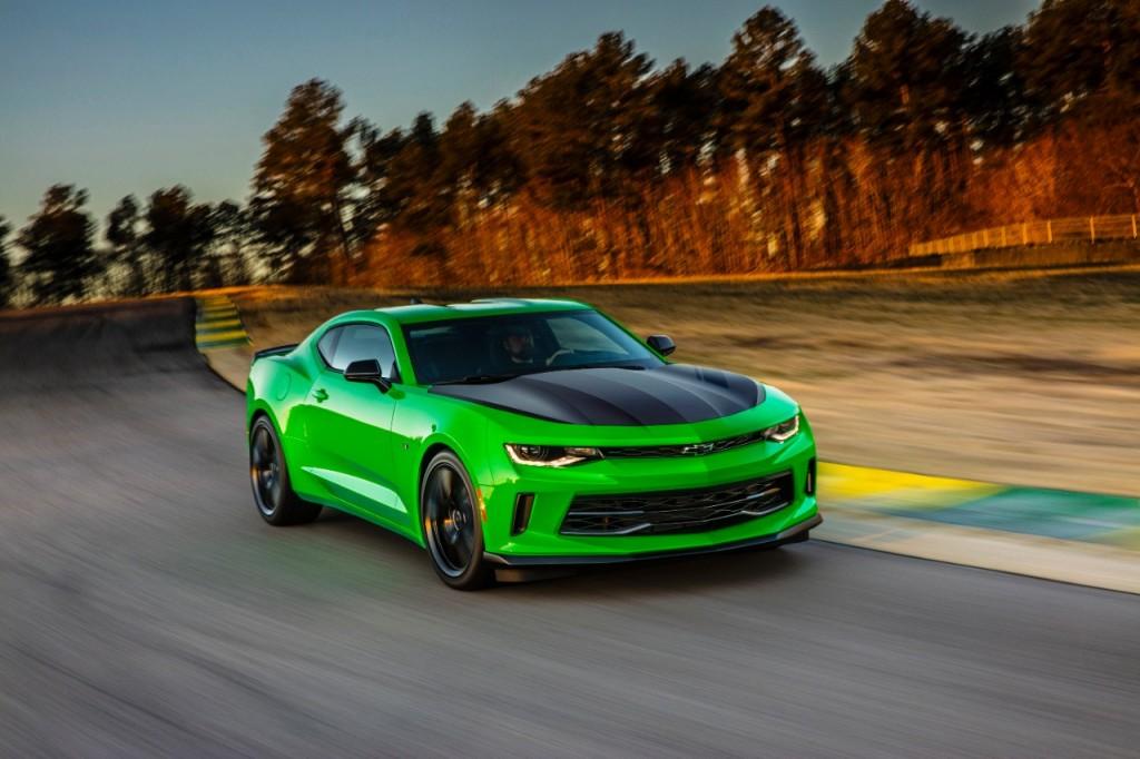 Camaro 1LE Source: Chevrolet
