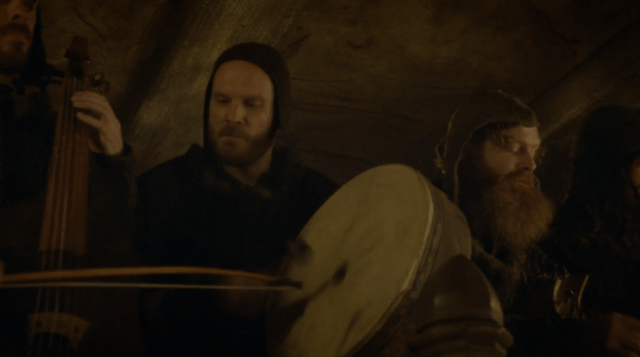 "Coldplay's drummer Will Champion had a cameo appearance in the Game of Thrones episode ""The Rains of Castamere."""