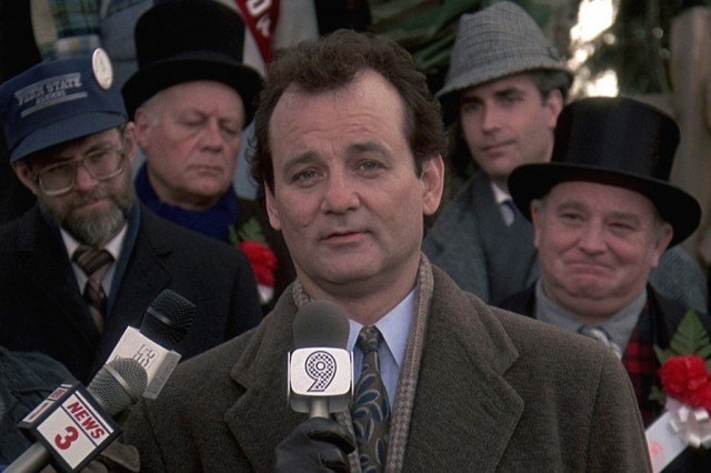 Bill Murray as Phil Connors in 'Groundhog Day'