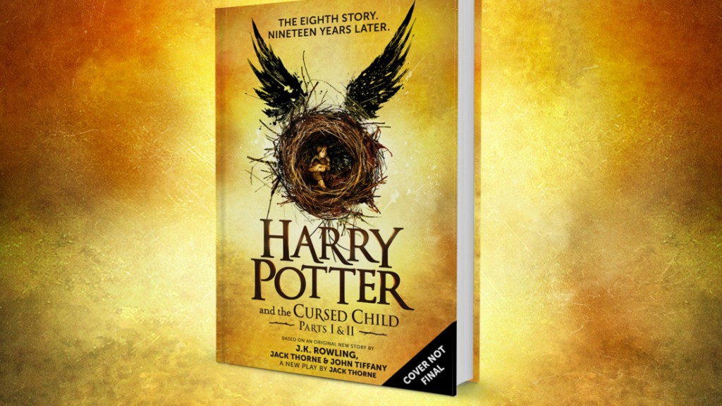 Harry Potter and the Cursed Child cover art