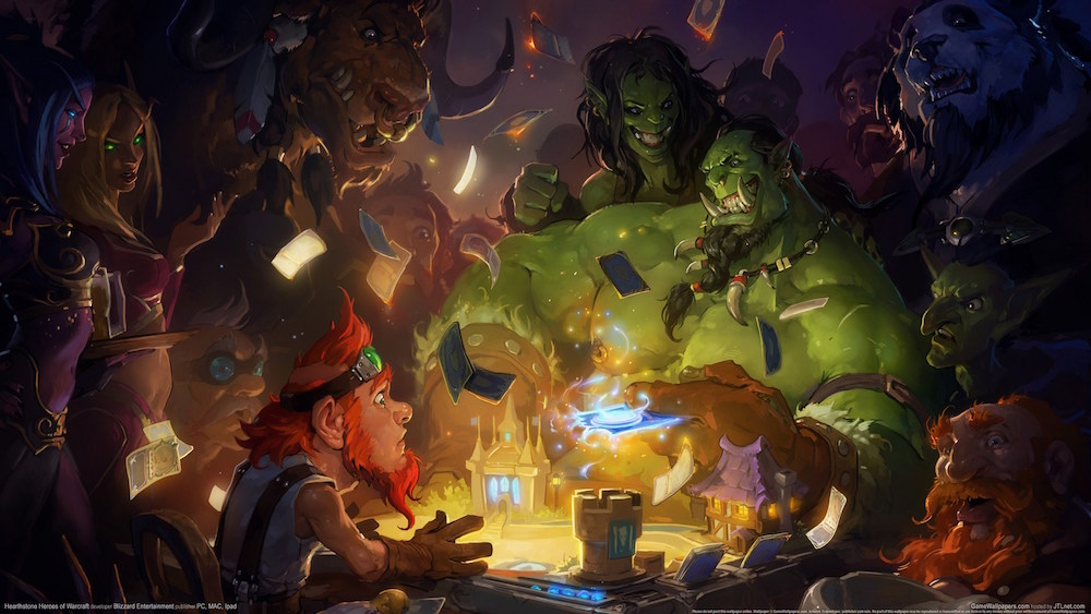 Concept art from Hearthstone: Heroes of Warcraft.