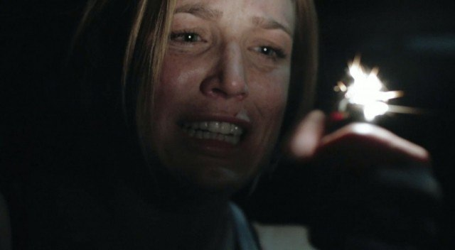 Caiti Lotz as Annie in the indie horror film 'The Pact'